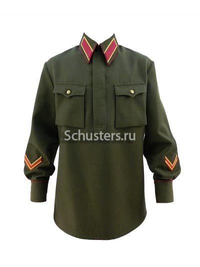 Гимнастерка (рубаха) для комначсостава обр. 1935 г.из полушерстяной ткани M3-007-U