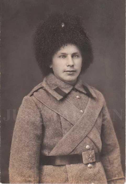 Bashlyk regular lower ranks 1914 (Башлык обыкновенный (для нижних чинов)) M1-015-G