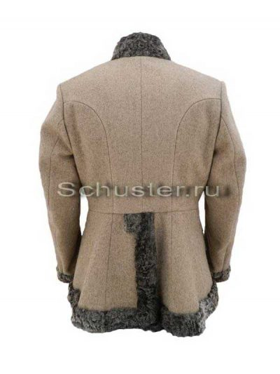 Bekesha (fur is gray / gray cloth greatcoat) (Бекеша)-02