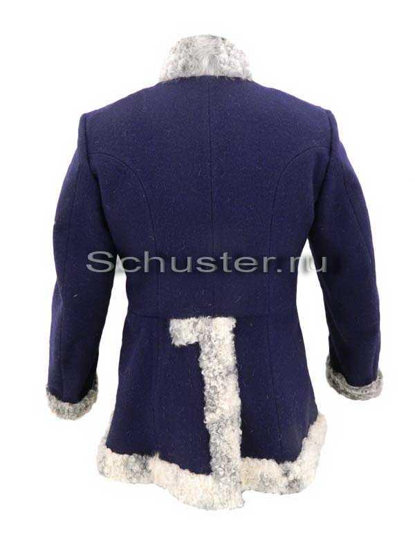 Производство и продажа Бекеша (мех серый/сукно темно-синее) M1-039-U с доставкой по всему миру