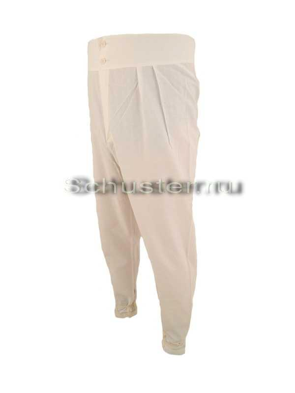 Trousers tunics a (long underwear) (Брюки исподние (подштанники))-02