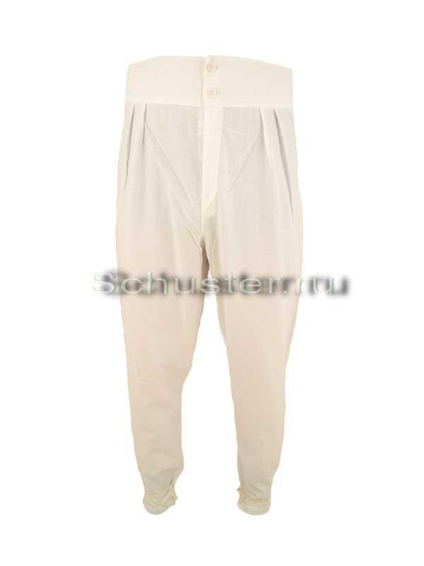 Trousers tunics a (long underwear) (Брюки исподние (подштанники))-01