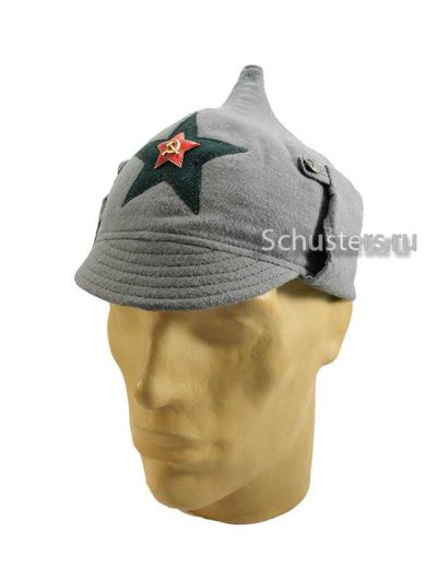 Производство и продажа Буденовка (зимний шлем) байковая обр. 1927 г. (медицинский состав) M3-008-Gc с доставкой по всему миру
