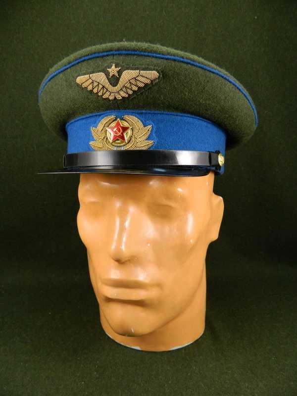 Visor cap M1941 for Air Force officer (Фуражка суконная обр. 1941 г. (ВВС)) M3-047-G