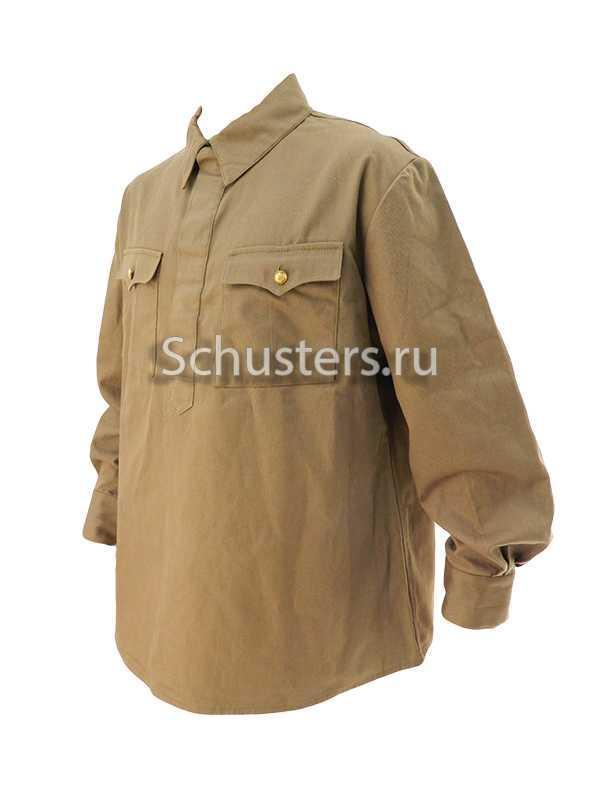 Gimnasterka (cotton tunic) for lower ranks 1935 (budget version) (Гимнастерка для рядового состава обр. 1935 г. (бюджетный вариант)) M3-010-Ua