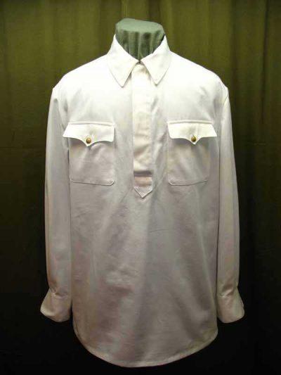 Производство и продажа Гимнастерка (рубаха) летняя белая для комначсостава обр. 1935 г. M3-028-U с доставкой по всему миру