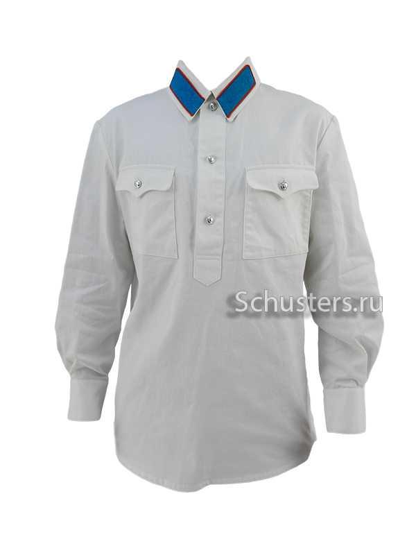 Производство и продажа Гимнастерка (рубаха) летняя белая для рядового состава обр. 1940 г. (милиция) M3-062-U с доставкой по всему миру