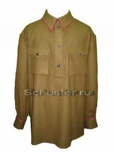 Gimnasterka (Wool) M1937 for Officers NKVD (Гимнастерка (рубаха) суконная для комначсостава обр. 1937 г. (НКВД))-01