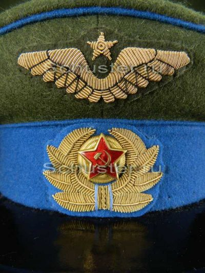 Air Force logo on the cap M 1941 (Эмблема на фуражку ВВС обр. 1941 г. )-01