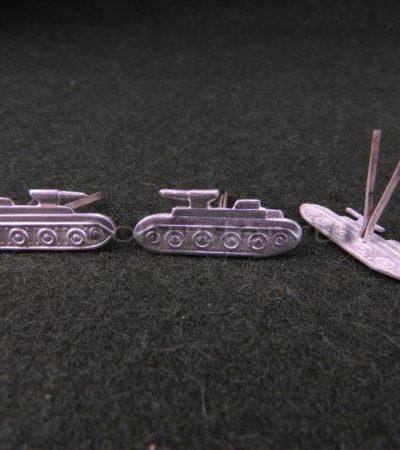 Производство и продажа Эмблемы рода войск обр. 1943-45 гг. (бронетанковые войска) M3-111-Z с доставкой по всему миру