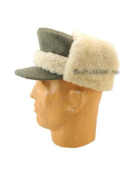 WINTER FUR CAP (Кепи с оторочкой и отворотами из белой овчины)-01