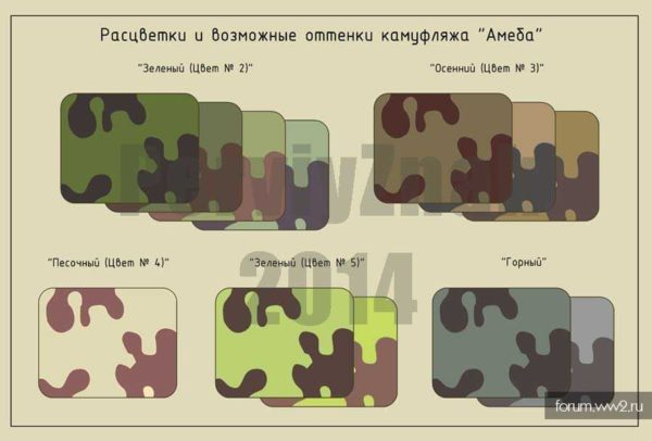 """Производство и продажа Маскировочный костюм """"амеба"""" обр.1937 года M3-048-U с доставкой по всему миру"""