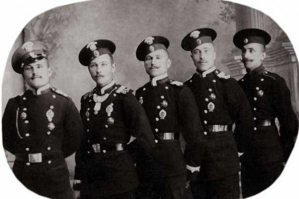 Производство и продажа Мундир двубортный для унтер-офицеров обр.1907 года M1-055-U с доставкой по всему миру