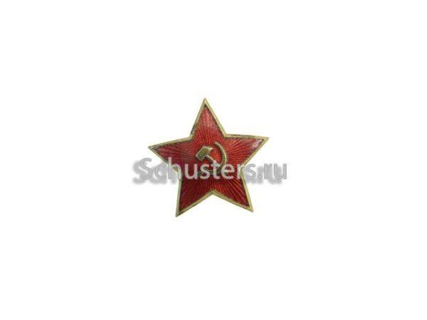 The original star for vizor less caps of the Red Army Navy. 28 mm (brass) M3-050-F
