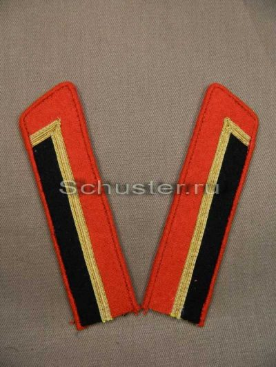 COLLAR TABS M40 ON SHIRT CADET (military school of artillery or armored troops) (Петлицы гимнастерочные курсантов военных училищ образца 1940 г. (артиллерия и бронетанковые войска))-01