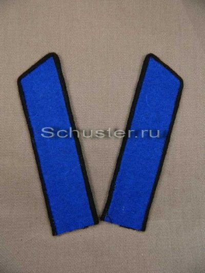 Collar tabs M35 on shirt (cavalry) (Петлицы гимнастерочные обр. 1935-43 гг. (кавалерия)) M3-009-Z