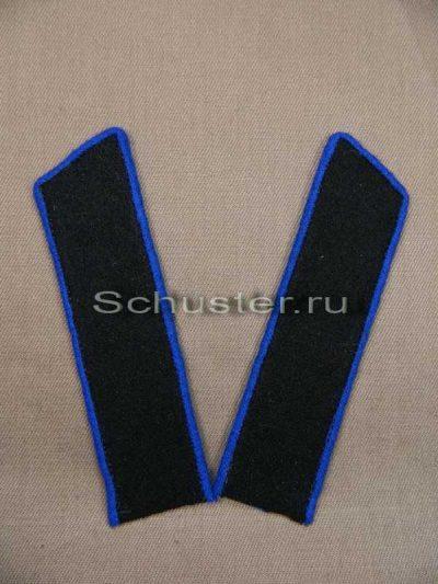 Collar tabs M35 on shirt (technical troops) (Петлицы гимнастерочные обр. 1935-43 гг. (Технические войска)) M3-016-Z