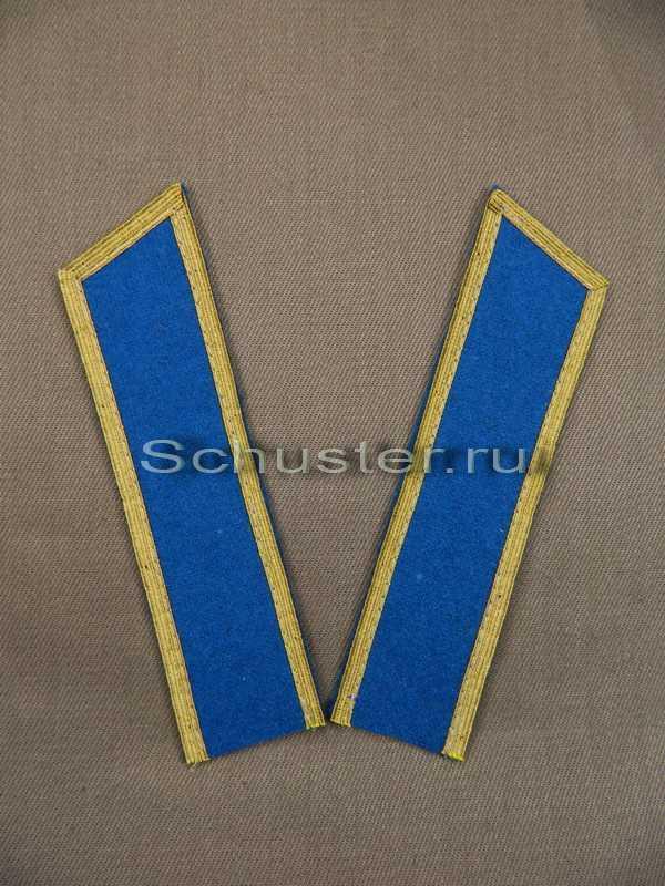 Collar tabs M40 on shirt middle and senior commanders (Air Forces) (Петлицы гимнастерочные среднего и старшего комначсостава обр. 1940-43 гг. (ВВС)) M3-128-Z