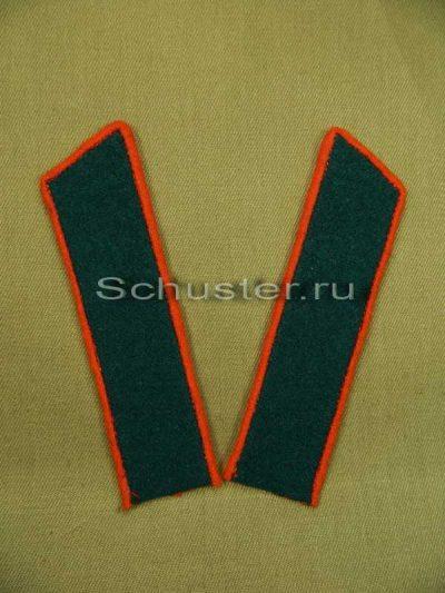 Collar tabs M35 on shirt (Medical Service/Quartermaster) (Петлицы обр. 1935-43 гг. (медицинской, ветеринарной и интендантской служб)) M3-082-Z