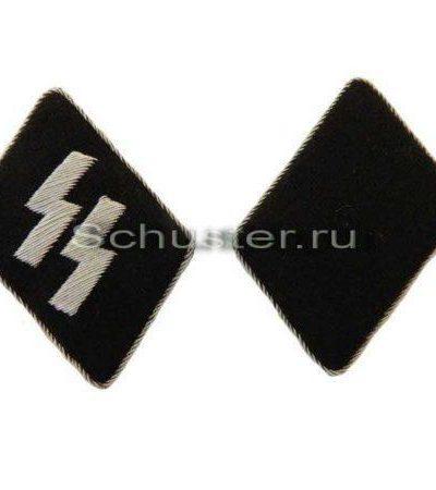 Производство и продажа Петлицы офицерские (СС) (Kragenpatten) M4-110-Z с доставкой по всему миру