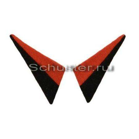 Collar tabs (sapper units) (Петлицы военнослужащих Польской дивизии им. Костюшко (саперные части)) M5-008-Z