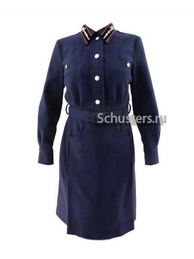 Dress uniform for women workers of the railway M1941 (Платье форменное для работниц железной дороги обр. 1941 года)-01