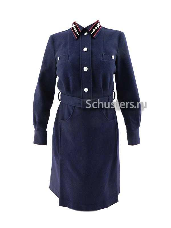 Dress uniform for women workers of the railway M1941 (Платье форменное для работниц железной дороги обр. 1941 года)-01