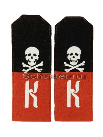 Shoulder straps Kornilov shock battalion. (Погоны нижнего чина Корниловских ударных частей с шифровкой. )-01