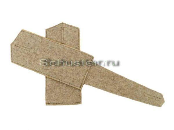 Shoulder straps of lower rank in the greatcoat (Погоны нижнего чина на шинель) M1-056-Z