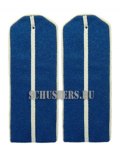 Shoulder straps of the regiment of General Alekseev (Погоны обер-офицерские партизанского генерала Алексеева пехотного полка)-01