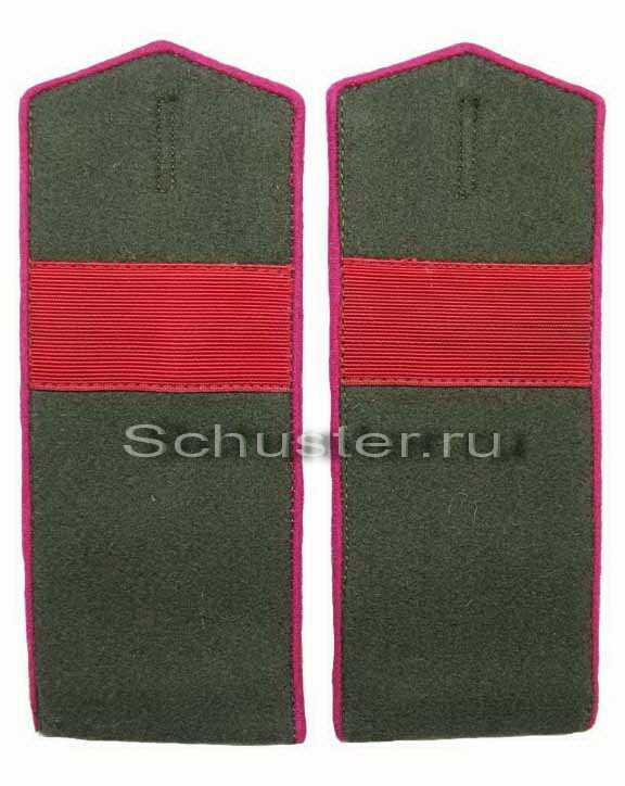 Shoulder Boards Field for NCO (Sr Sergeant) 1943 (Погоны полевые младшего командного состава обр. 1943 г. (старший сержант)) M3-147-Z