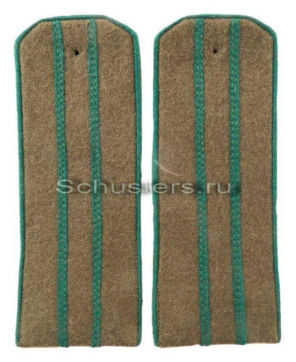 SHOULDER BOARDS FIELD FOR OFFICERS (MAJOR TO COLONEL) (border troops of the NKVD) 1944 (Погоны полевые офицерские обр. 1944 г. старшего начальствующего состава (пограничных войск НК M3-299-Z
