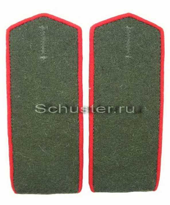 Shoulder Boards Field for lower ranks (Artillery/Armor) 1943 (Погоны полевые рядового состава обр. 1943 г. (артиллерия и автобронетанковые войская)) M3-140-Z