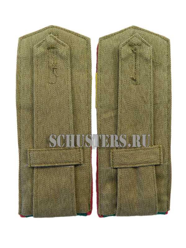 SHOULDER BOARDS FOR LOWER RANKS 1943 (staff Sergeant) (Погоны повседневные младшего командного состава обр. 1943 г. (старший сержант пограничных войск НКВД)) M3-159-Z