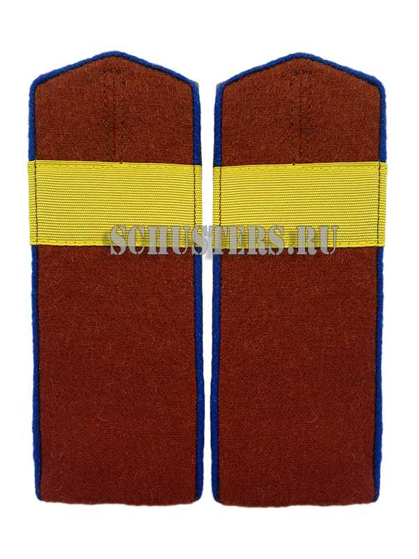 SHOULDER BOARDS FOR LOWER RANKS 1943 (Погоны повседневные младшего командного состава обр. 1943 г. (старший сержант внутренних войск НКВД)) M3-343-Z