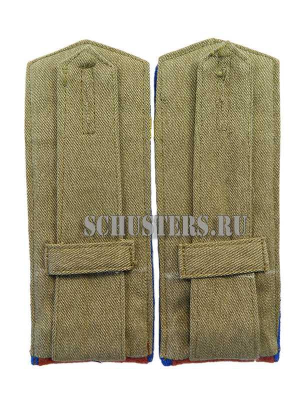 SHOULDER BOARDS FOR LOWER RANKS 1943 (Погоны повседневные младшего командного состава обр. 1943 г. (старшина внутренних войск НКВД)) M3-344-Z