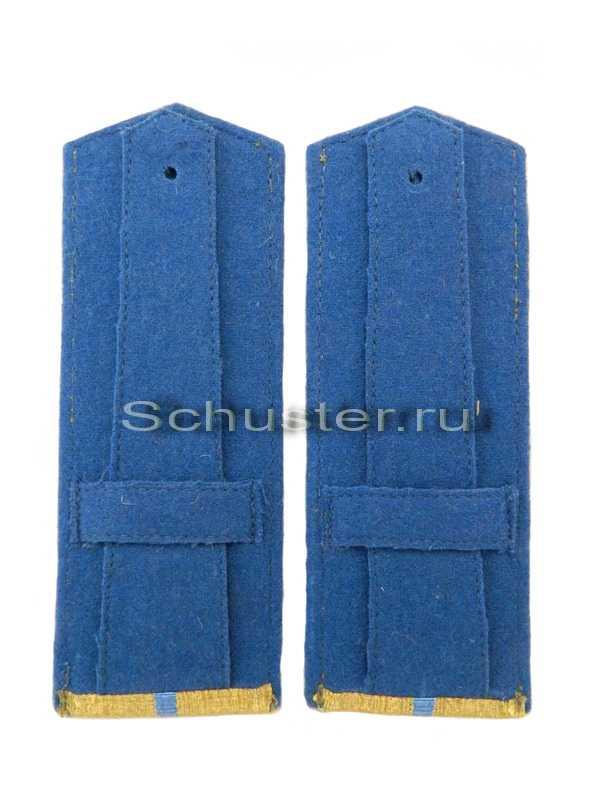 Shoulder Boards Everyday wear (Gold) for Officers (Lieutenant -Captain) Aviation 1943 (Погоны повседневные офицерские обр. 1943 г. среднего комначсостава (ВВС)) M3-256-Z