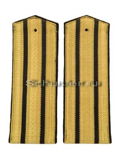Shoulder Boards Everyday wear (Gold) for Officers (Major-Colonel) Technical 1943 (Погоны повседневные офицерские обр. 1943 г. старшего комначсостава (технические войска)) M3-259-Z