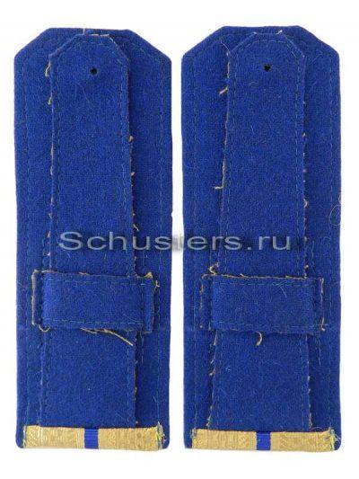 Shoulder Boards Everyday wear (Gold) for Officers (Lieutenant -Captain) NKVD 1944 (Погоны повседневные офицерские обр. 1944 г. среднего комначсостава (органов и войск НКВД)) M3-281-Z