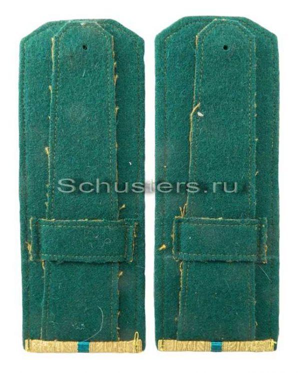 Shoulder Boards Everyday wear (Gold) for Officers (Lieutenant -Captain) (border troops of the NKVD) 1944 (Погоны повседневные офицерские обр. 1944 г. среднего комначсостава (погран-02