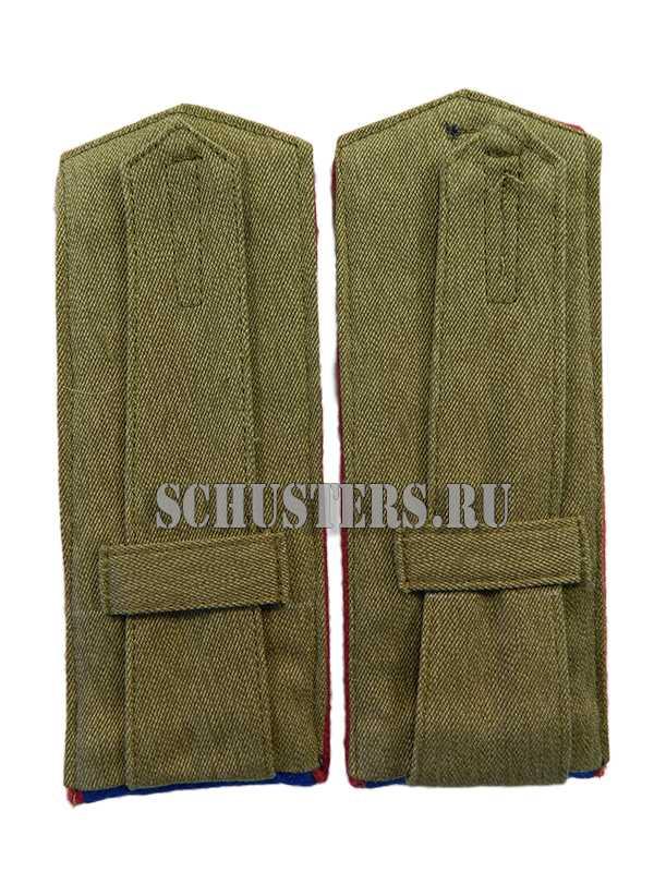 SHOULDER BOARDS FOR LOWER RANKS 1943 (organs of state security) ( Погоны повседневные рядового состава обр. 1943 г. (органов государственной безопасности)) M3-286-Z