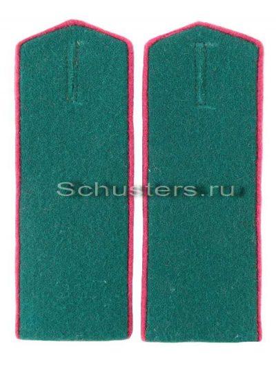 SHOULDER BOARDS FOR LOWER RANKS 1943 (border troops of the NKVD) (Погоны повседневные рядового состава обр. 1943 г. (пограничные войска НКВД)) M3-285-Z
