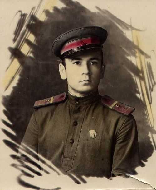SHOULDER BOARDS FOR LOWER RANKS 1943 (internal troops NKVD) (Погоны повседневные рядового состава обр. 1943 г. (внутренние войска НКВД)) M3-044-Z