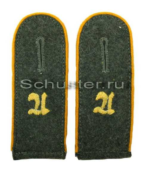 Shoulder straps with embroidered or encryption of the number of the regiment (Погоны с шифровкой полка или части) M4-001-Z