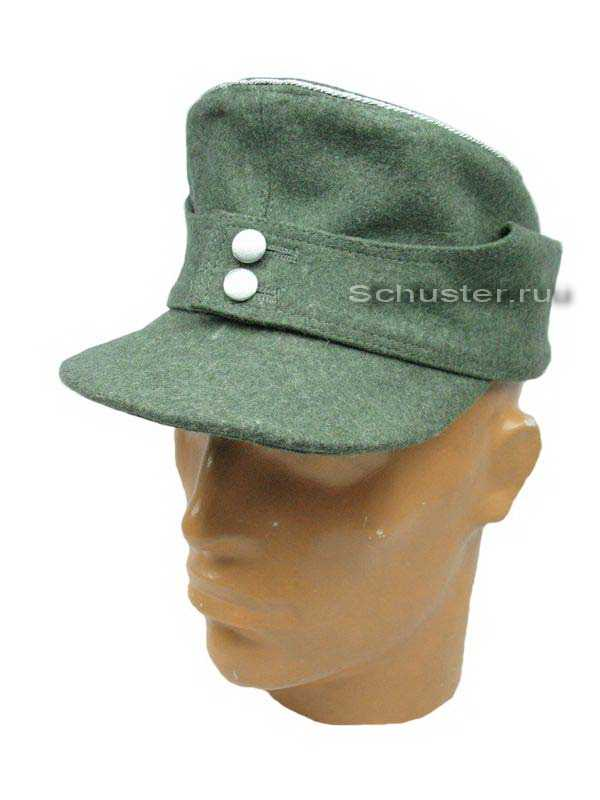 Производство и продажа Полевое кепи обр. 1943 г. (офицерское) (Einheitsfeldmutze M43) M4-029-G с доставкой по всему миру