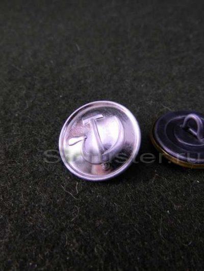 Button NKVD M1943 (large size) (Пуговица большая форменная к обмундированию личного состава НКВД обр. 1943 г. (белая))-01