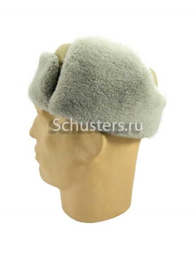 Winter cap (Ushanka) M1940 (artificial fur) (Шапка-ушанка М1940 (х/б хаки