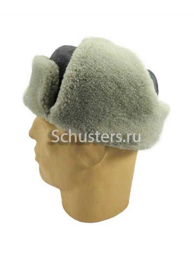 Winter cap (Ushanka) M1940 - b (artificial fur) (Шапка-ушанка М1940 (сукно, искусственный мех)) M3-080-G
