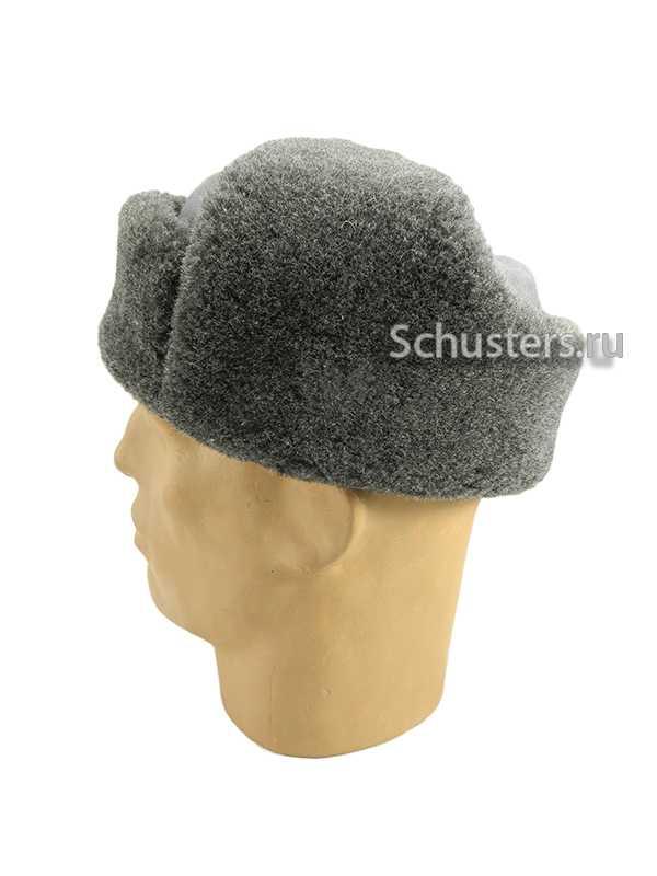 WINTER CAP (USHANKA) M1940 (ШАПКА-УШАНКА ОБР. 1940 Г. (СЕРАЯ БАЙКА, ИСКУССТВЕННЫЙ МЕХ)) M3-022-G