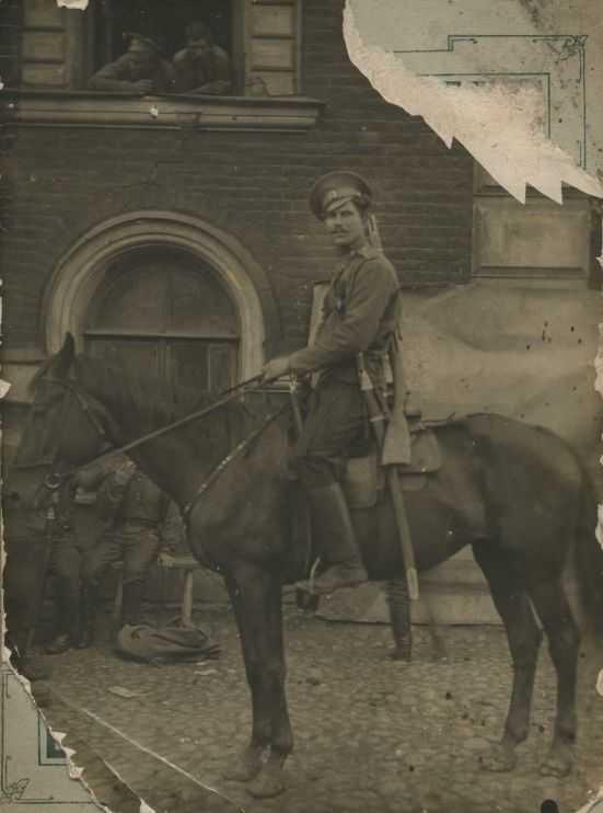 Britches Moleskin for Step Cossack Regiments (Шаровары молескиновые для степовых казачьих войск) M1-014-U
